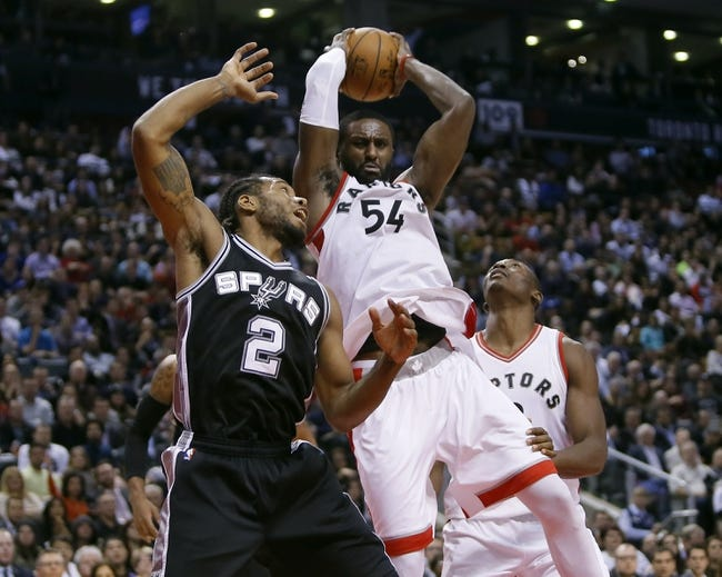 San Antonio Spurs vs. Toronto Raptors - 4/2/16 NBA Pick, Odds, and Prediction