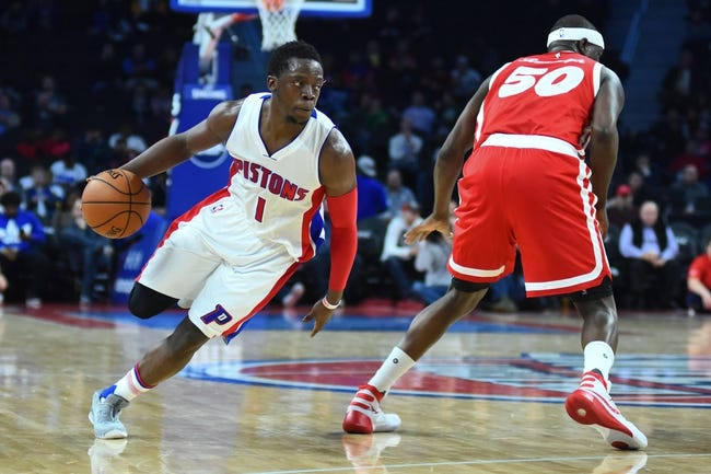 Pistons at Grizzlies - 1/14/16 NBA Pick, Odds, and Prediction