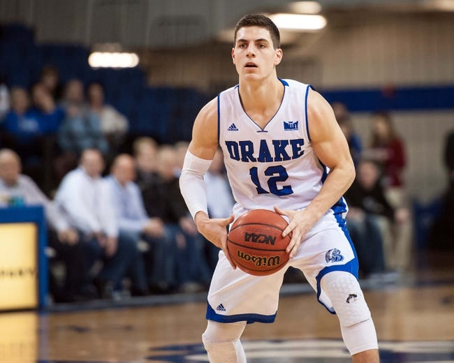 Drake  vs. Missouri State - 1/20/16 College Basketball Pick, Odds, and Prediction