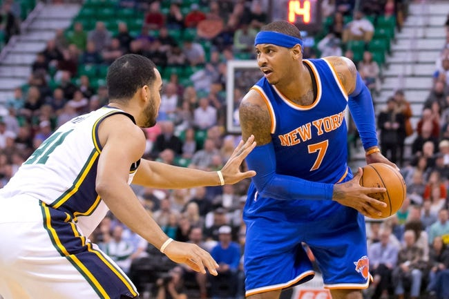 Knicks vs. Jazz - 1/20/16 NBA Pick, Odds, and Prediction