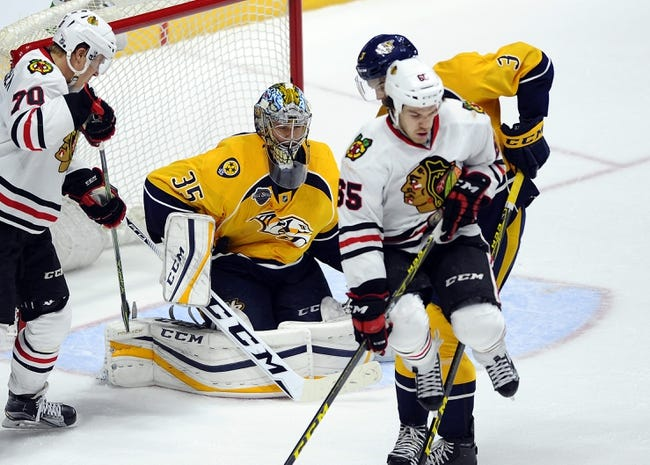 Chicago Blackhawks vs. Nashville Predators - 1/12/16 NHL Pick, Odds, and Prediction
