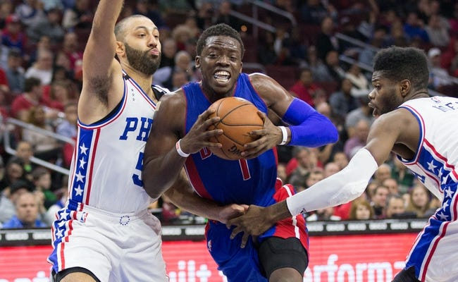 Detroit Pistons vs. Philadelphia 76ers - 1/27/16 NBA Pick, Odds, and Prediction