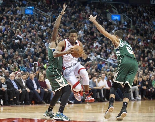 Milwaukee Bucks vs. Toronto Raptors - 12/26/15 NBA Pick, Odds, and Prediction