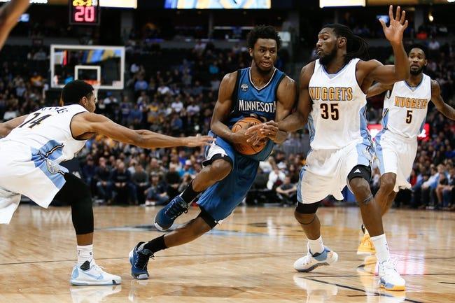 Nuggets at Timberwolves - 12/15/15 NBA Pick, Odds, and Prediction
