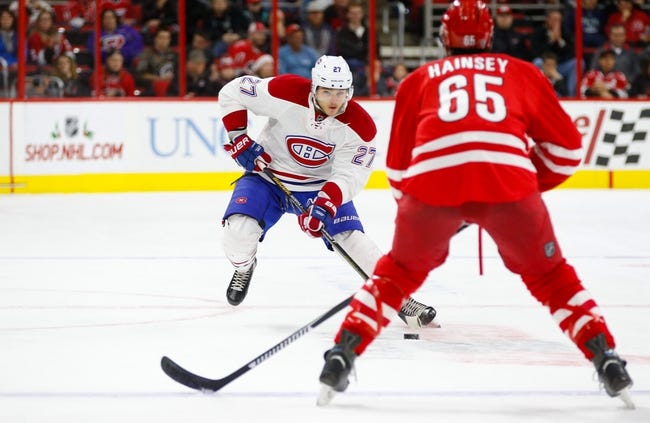 Canadiens vs. Hurricanes - 2/7/16 NHL Pick, Odds, and Prediction
