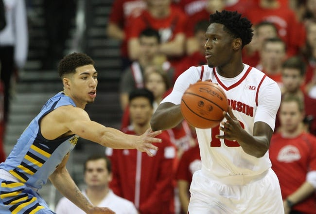 Wisconsin vs. Texas A&M C.C. - 12/15/15 College Basketball Pick, Odds, and Prediction