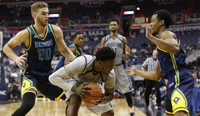 Georgetown Hoyas vs. Monmouth Hawks - 12/15/15 College Basketball Pick, Odds, and Prediction