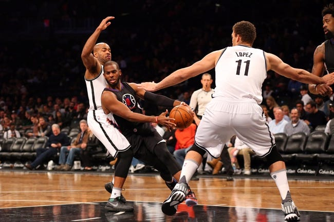 Clippers vs. Nets - 2/29/16 NBA Pick, Odds, and Prediction