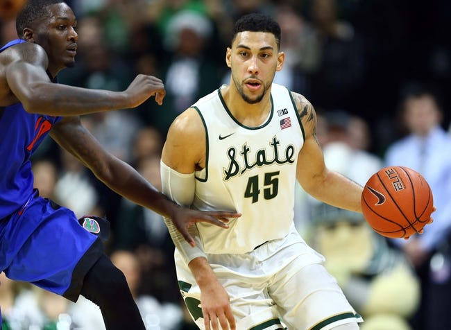 Northeastern Huskies vs. Michigan State Spartans - 12/19/15 College Basketball Pick, Odds, and Prediction