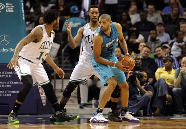 Charlotte Hornets vs. Boston Celtics - 12/23/15 NBA Pick, Odds, and Prediction