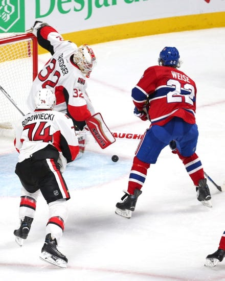 Ottawa Senators vs. Montreal Canadiens - 3/19/16 NHL Pick, Odds, and Prediction