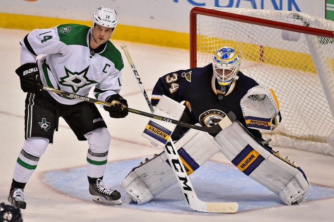 St. Louis Blues vs. Dallas Stars - 12/26/15 NHL Pick, Odds, and Prediction