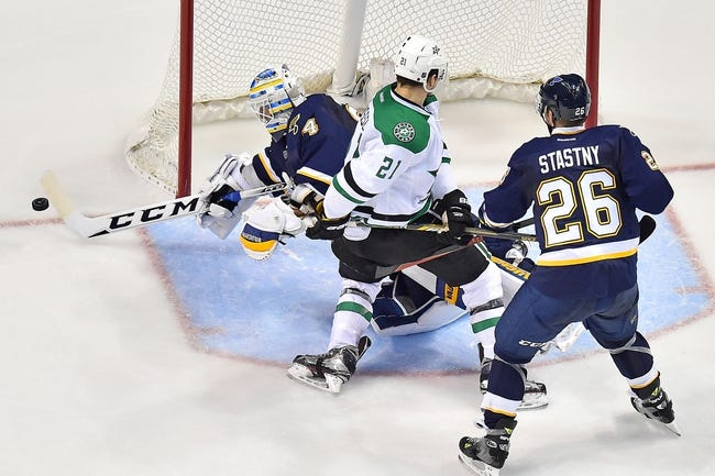 Dallas Stars vs. St. Louis Blues - 12/27/15 NHL Pick, Odds, and Prediction