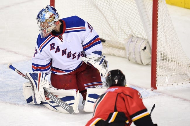 Calgary Flames vs. New York Rangers - 11/12/16 NHL Pick, Odds, and Prediction