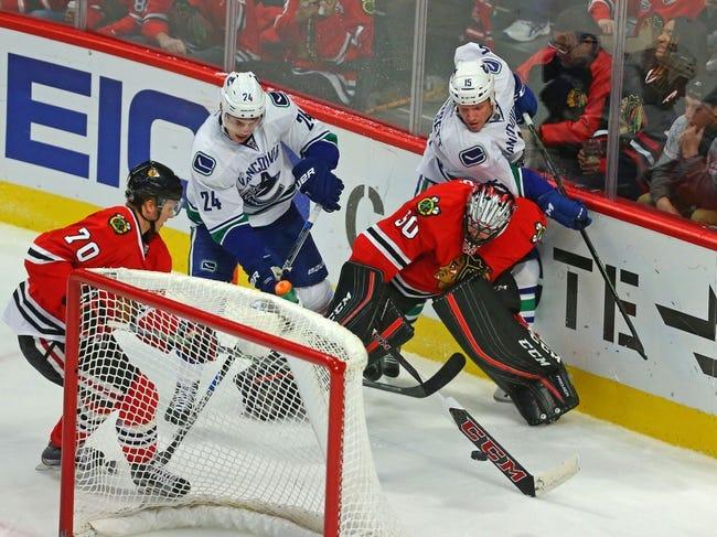 Canucks vs. Blackhawks - 3/27/16 NHL Pick, Odds, and Prediction