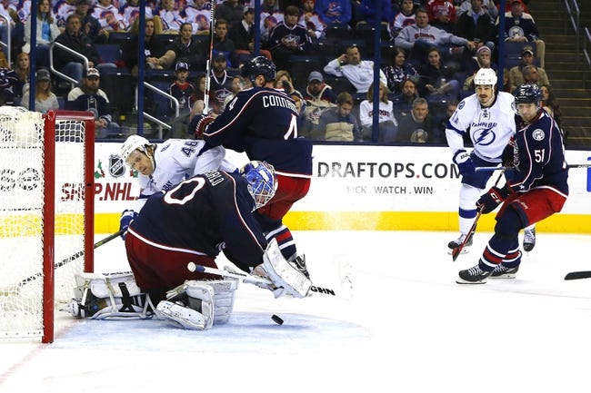 Tampa Bay Lightning vs. Columbus Blue Jackets - 12/26/15 NHL Pick, Odds, and Prediction