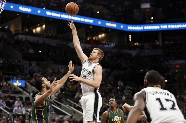 San Antonio Spurs vs. Utah Jazz - 1/6/16 NBA Pick, Odds, and Prediction