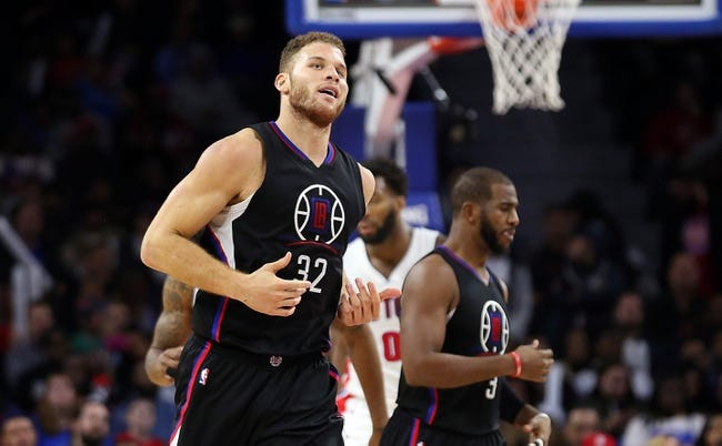 Los Angeles Clippers vs. Detroit Pistons - 11/7/16 NBA Pick, Odds, and Prediction