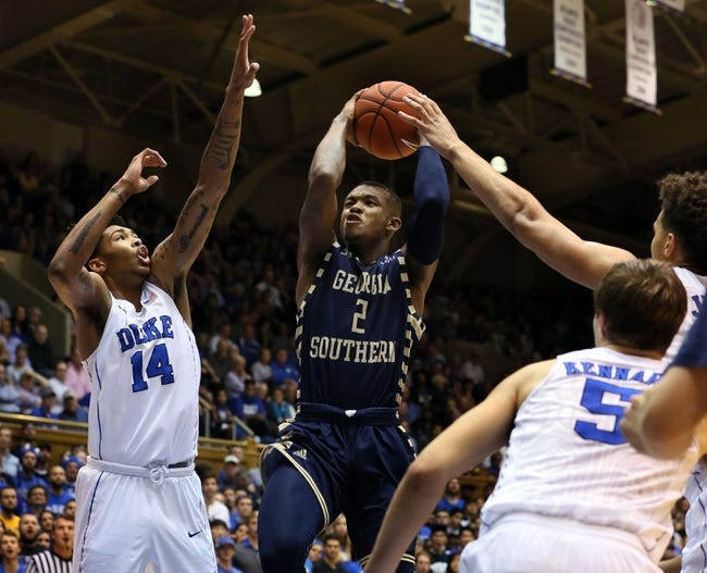 Troy Trojans vs. Georgia Southern Eagles - 2/11/16 College Basketball Pick, Odds, and Prediction