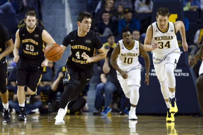Northern Kentucky  vs. Austin Peay - 11/18/16 College Basketball Pick, Odds, and Prediction