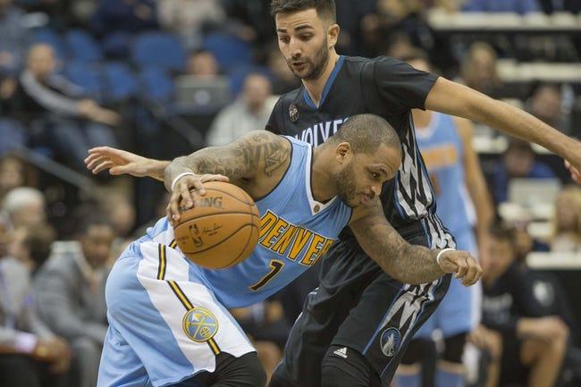 Timberwolves vs. Nuggets - 1/6/16 NBA Pick, Odds, and Prediction