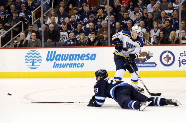 Blues vs. Jets - 2/9/16 NHL Pick, Odds, and Prediction