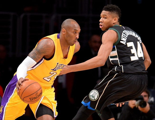 Bucks vs. Lakers - 2/22/16 NBA Pick, Odds, and Prediction
