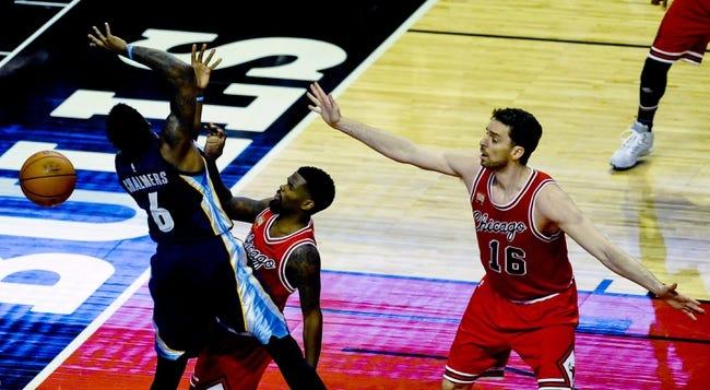 Grizzlies vs. Bulls - 4/5/16 NBA Pick, Odds, and Prediction