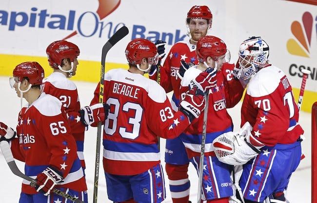 Washington Capitals vs. Ottawa Senators - 1/10/16 NHL Pick, Odds, and Prediction