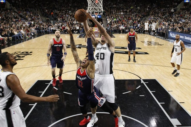 San Antonio Spurs at Washington Wizards - 11/26/16 NBA Pick, Odds, and Prediction