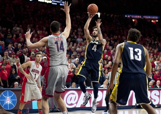 UNLV Rebels vs. Northern Arizona Lumberjacks - 11/22/16 College Basketball Pick, Odds, and Prediction