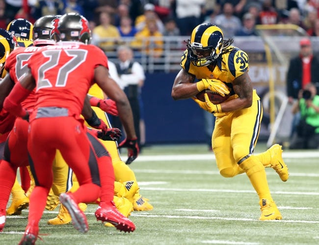 Tampa Bay Buccaneers at St. Louis Rams 12/17/15 NFL Score, Recap, News and Notes