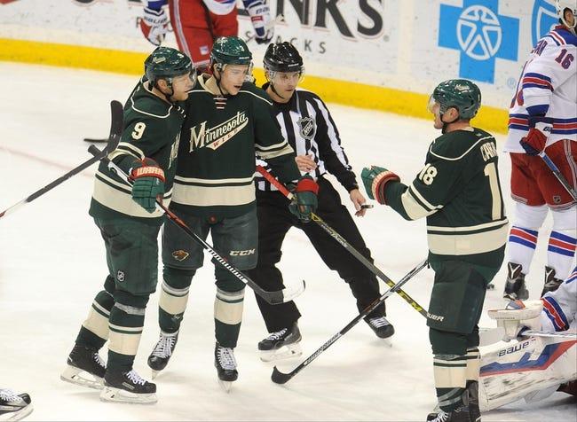 New York Rangers vs. Minnesota Wild - 2/4/16 NHL Pick, Odds, and Prediction