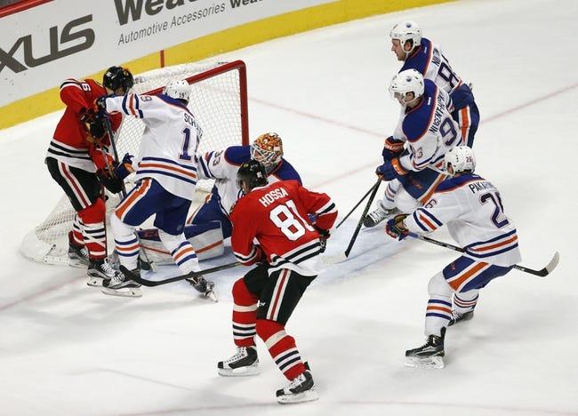 Edmonton Oilers vs. Chicago Blackhawks - 11/21/16 NHL Pick, Odds, and Prediction