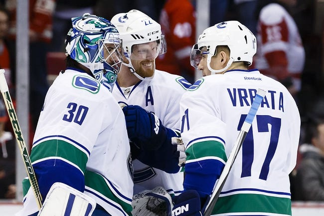 Detroit Red Wings vs. Vancouver Canucks - 11/10/16 NHL Pick, Odds, and Prediction