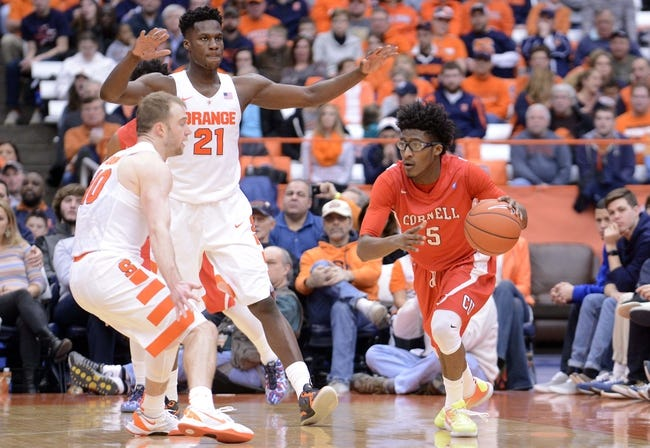 Cornell Big Red vs. Columbia Lions - 1/23/16 College Basketball Pick, Odds, and Prediction