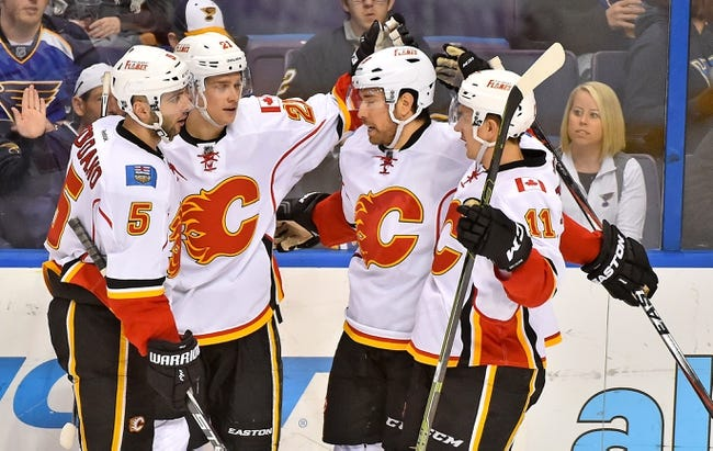 Calgary Flames vs. St. Louis Blues - 3/14/16 NHL Pick, Odds, and Prediction