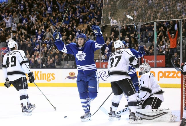 Kings vs. Maple Leafs - 1/7/16 NHL Pick, Odds, and Prediction