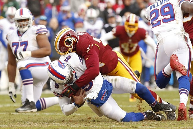 Washington Redskins vs. Buffalo Bills - 8/26/16 NFL Pick, Odds, and Prediction