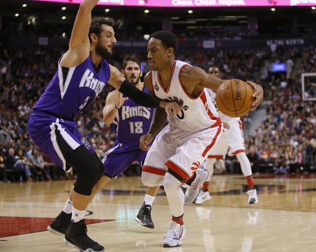 Toronto Raptors vs. Sacramento Kings - 11/6/16 NBA Pick, Odds, and Prediction