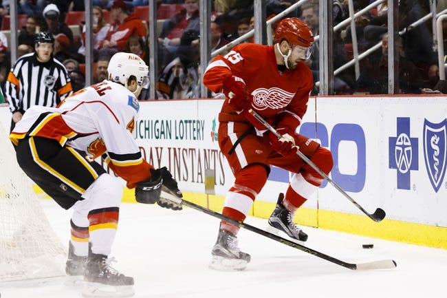 Detroit Red Wings vs. Calgary Flames - 11/20/16 NHL Pick, Odds, and Prediction