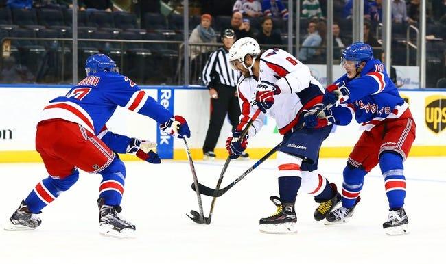 Rangers vs. Capitals - 1/9/16 NHL Pick, Odds, and Prediction