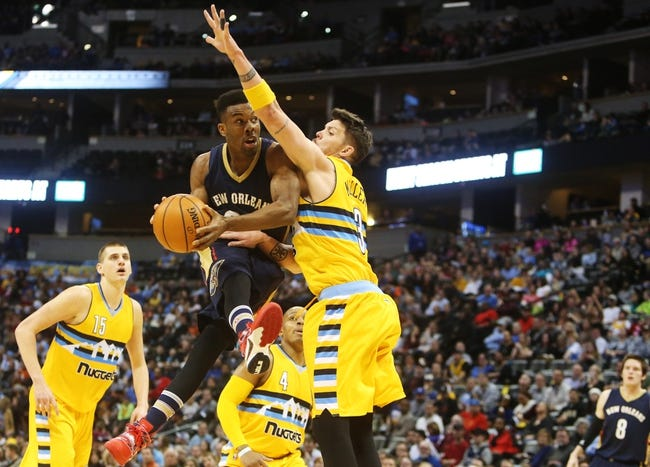 Pelicans vs. Nuggets - 3/31/16 NBA Pick, Odds, and Prediction