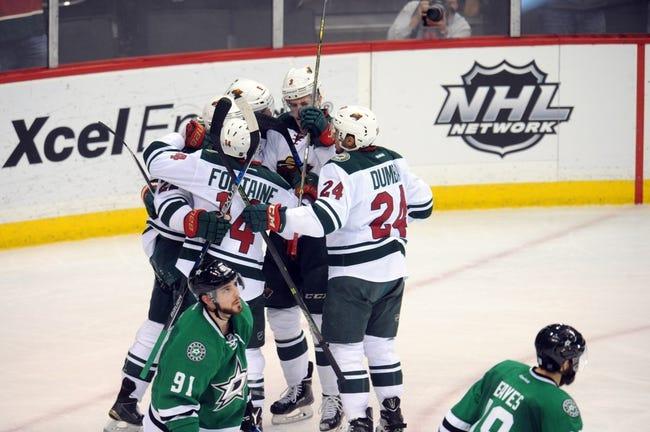 Stars vs. Wild - 1/9/16 NHL Pick, Odds, and Prediction