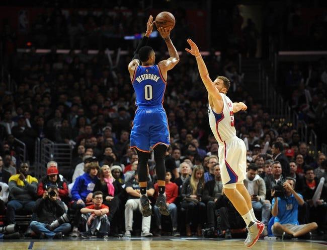 Oklahoma City Thunder vs. Los Angeles Clippers - 11/10/17 NBA Pick, Odds, and Prediction