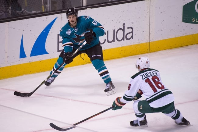 Sharks vs. Wild - 1/23/16 NHL Pick, Odds, and Prediction