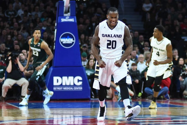 Cleveland State vs. Oakland - 2/6/16 College Basketball Pick, Odds, and Prediction