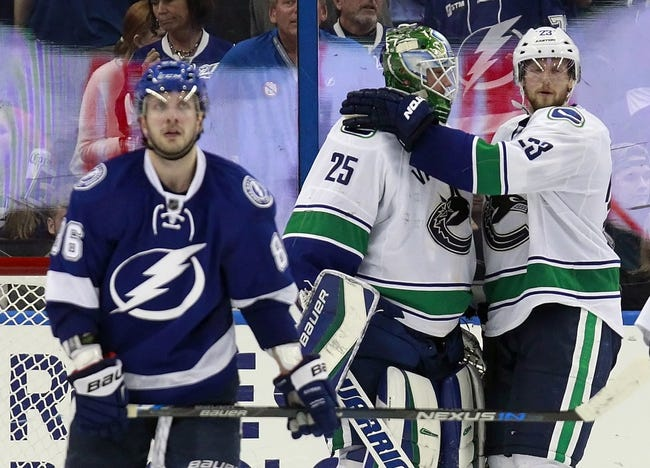 Vancouver Canucks vs. Tampa Bay Lightning - 1/9/16 NHL Pick, Odds, and Prediction