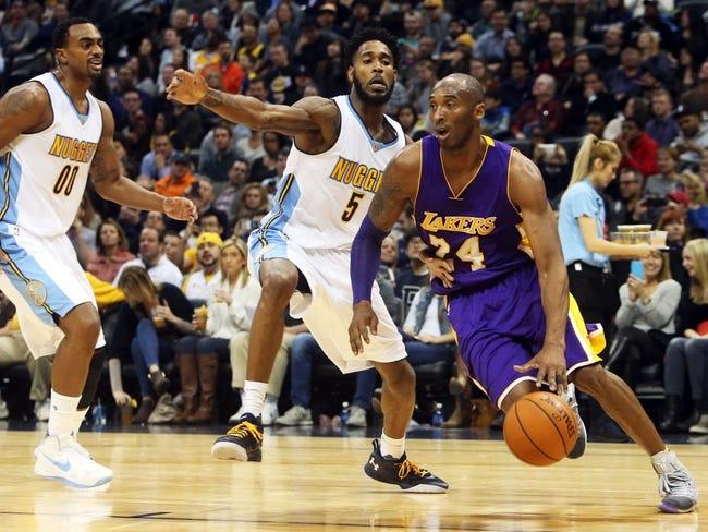 Lakers vs. Nuggets - 3/25/16 NBA Pick, Odds, and Prediction