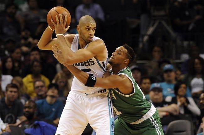 Celtics vs. Hornets - 4/11/16 NBA Pick, Odds, and Prediction